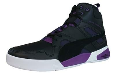 Puma Men's Ftr Trinomic Slipstream Lite Black Leather Sneakers - 10.5UK/India (45EU)