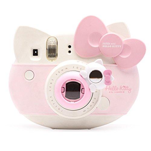 Süßes Kätzchen Selfie und die Nahaufnahme Lens für Fujifilm Instax Mini8 Mini13s Hellokitty Instant Kamera(Pink Kätzchen) Hello Kitty Kamera