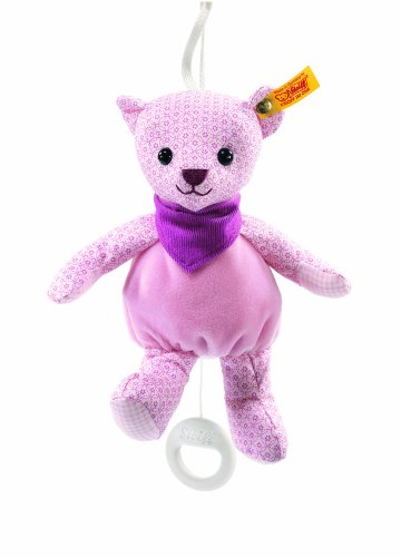 Steiff-20cm-Little-Circus-Teddy-Bear-Music-Box-for-Newborn-Pale-Pink