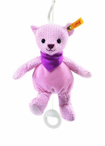 Steiff 238154 - Teddybär Maedchen Spieluhr 20 cm, rosa