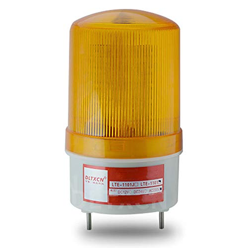 Auto Outdoor LED Blinklicht Warnsignal, Road Flares Vehicle Light Beacon Prevent Highlight Roadside Safety Emergency LED Lampe (Red),Yellow Led Emergency Vehicle Lights