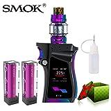 E Zigarette Starter Set Kein Nikotin, SMOK Mag Kit mit TFV12 Prince Tank, 225W E Shisha mit 2 * EFest-Akkus (Schwarzes Prisma)