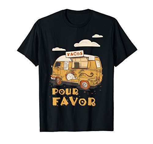 Taco Food Truck Mexican Way Lustiges Mexico Sprüche Geschenk T-Shirt
