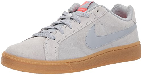 Nike Court Royale, Scarpe da Ginnastica Basse Uomo Grigio (Wolf Grey/wolf Grey-solar Red-gum Light Brown)