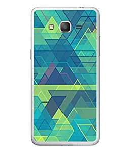 PrintVisa Designer Back Case Cover for Samsung Galaxy On5 (2015) :: Samsung Galaxy On 5 G500Fy (2015) (Box Block Lines Zigzag Bricks)