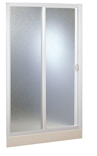 Forte BSE126001 Box Doccia 1 Lato Riducibile Bianco