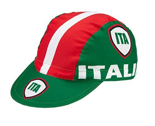 Radmütze Italia Roma Cap Rennmütze Retro Mütze