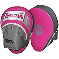Lonsdale Curved HJ Pad Sparring Gloves Boxing Training Sports Equipment