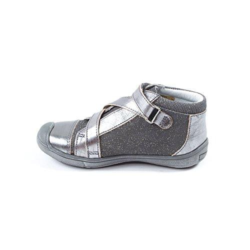 GBB Hada, Chaussures de ville fille Gris