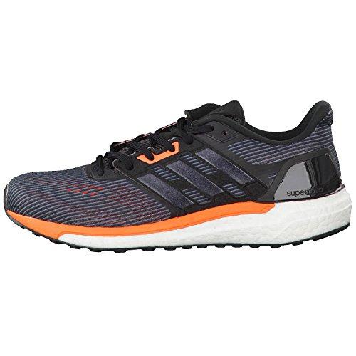 adidas Herren Supernova M Sneakers Schwarz (Utility Black/core Black/solar Orange)