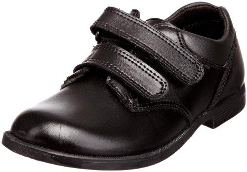 Toughees Nathan Velcro, Chaussures D'école et Uniforme Garçon Noir - noir