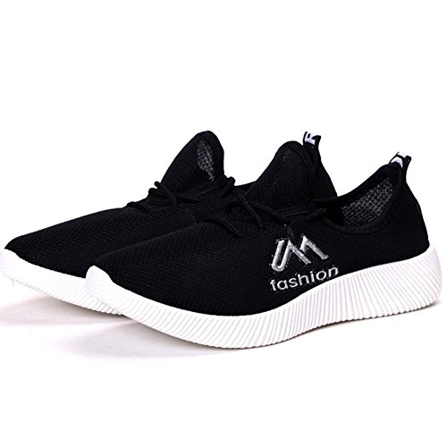 Ms. scarpe sportive Scarpe da corsa traspirante tempo libero Scarpe basse black