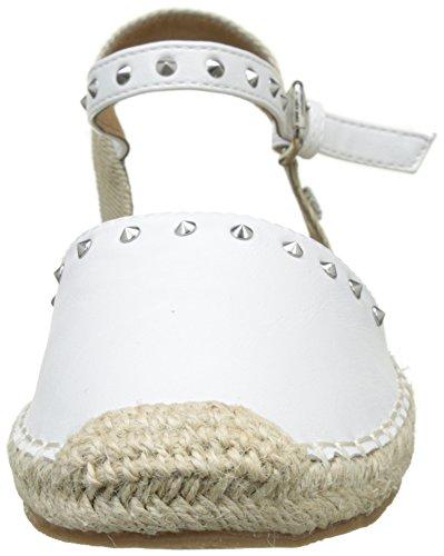 Tom Tailor 2795607, Espadrilles Femme Blanc (white)