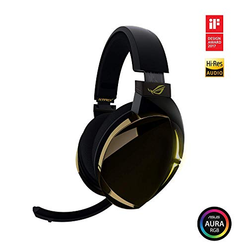 Foto ASUS ROG Strix Fusion 700 Wireless Cuffie Gaming (Bluetooth 4.2, 7.1 Canali Virtuali, Aura SYNC RGB, Compatibile con PS4, Touch Control)