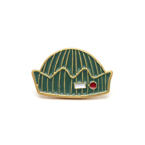 HYLIWI Brosche Enamel Pin Cartoon Brooch Clothes Pins Badges for Denim Blouse Charm Tie Pins Jewelry Accessories (Tie Vogel Clip)
