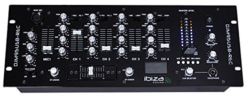 Ibiza 15-2370 19 Zoll Mixer mit USB/SD Spieler