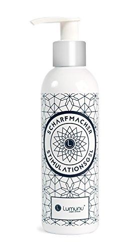 Deluxe Intense Erlebnis Gleitgel Scharfmacher, prickelndes Stimulations Gleitmittel auf Wasserbasis für Sie und Ihn, vegan & parabenfrei