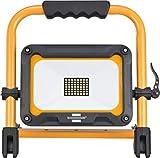 Brennenstuhl Mobiler Akku LED Strahler JARO 3000 MA (LED Baustahler, Arbeitsleuchte, IP54, 30W) schwarz/gelb