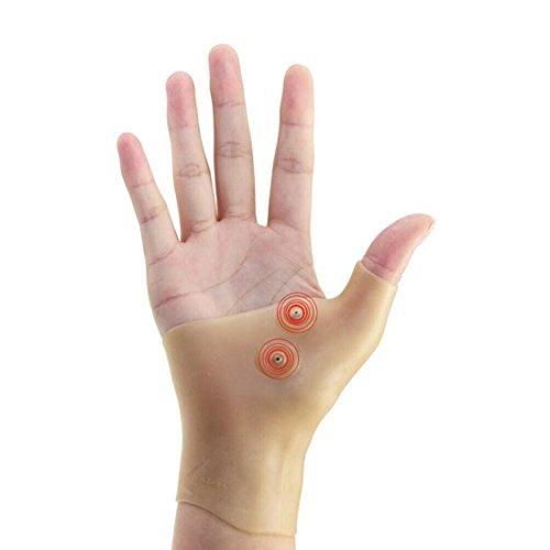 iZoeL Daumenbandage Daumenschutz Gel Tenosynovitis Handgelenk Stürtze Schmerz Entlastung Handschuhe für links & rechts Hand 1 Stück