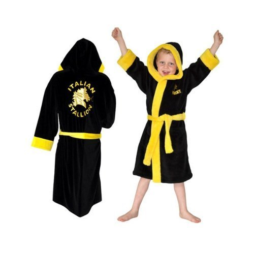 (Rocky Balboa Kids Dressing Gown Large by Robes)