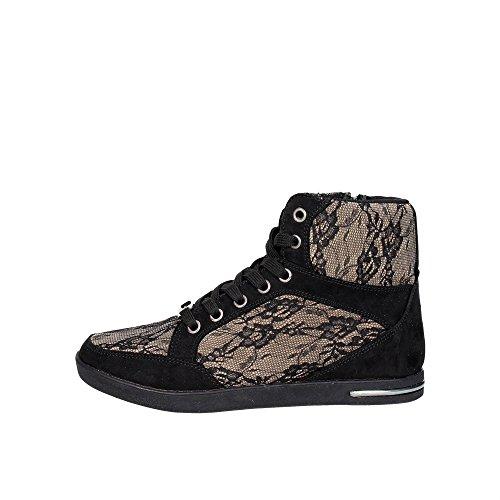 Laura Biagiotti 1557 Sneakers Donna Pizzo Nero/taupe Nero/taupe 37