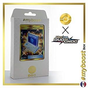Communication Pokémon (Comunicación Pokémon) 196/181 Entrenadore Secreta - #myboost X Soleil & Lune 9 Duo de Choc - Box de 10 Cartas Pokémon Francés