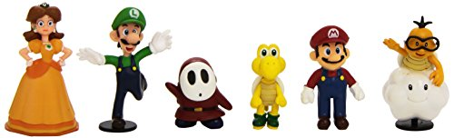 NINTENDO - Pack de six figurines Nintendo Wave 2