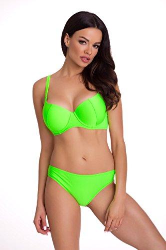 Primo© - 167 - Damen Bikini Set Badeanzug Batching Beachwear Bademode • S - XXL Größe • Neue Kollektion • Frühjahr Sommer 2017 (XL, grünes (Et Pinterest Kostüm)
