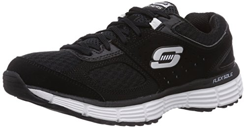 Skechers AgilityPerfect Fit   Sneakers da donna Nero (Schwarz (BKW))