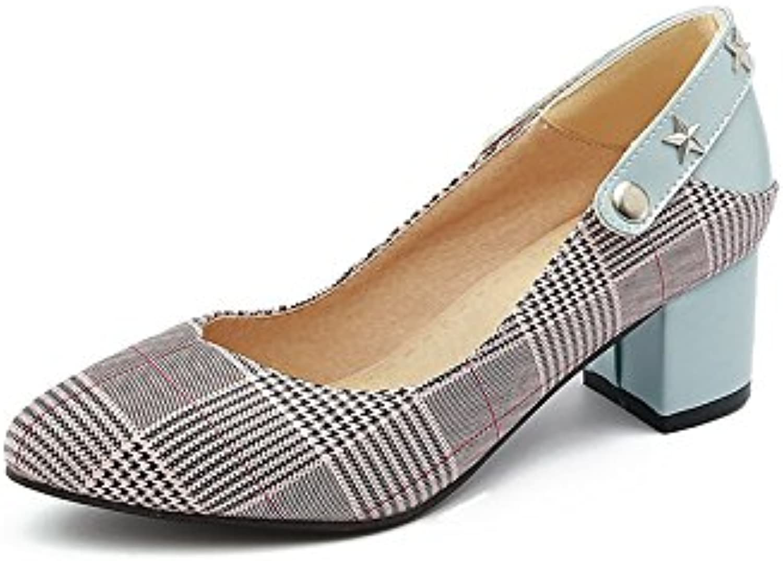 Primavera estilo de punta y confort con un llamativo luz población y singles femeninos zapatos, Rojo 39