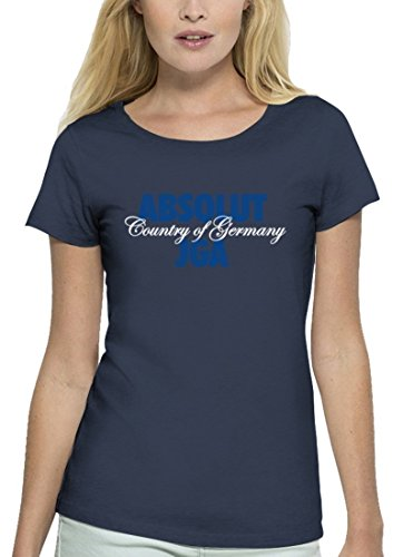 JGA Premium Damen T-Shirt aus Bio Baumwolle JGA 33 - ABSOLUT JGA Stanley Stella Navy
