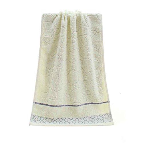 Sunlera Cotton Jacquard Weave Gesicht Handtuch Bad Hand Strand Absorbent trocknendes Tuch (Jacquard-bad)