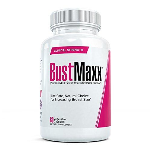 BustMaxx: Meilleures Gélules pour Augmentation Mammaire - Grossissement de Poitrine Complément Naturel d'Augmentation du Sein Conçu pour améliorer la Croissance Mammaire et Augmenter Sein, 60 Pilules (1)