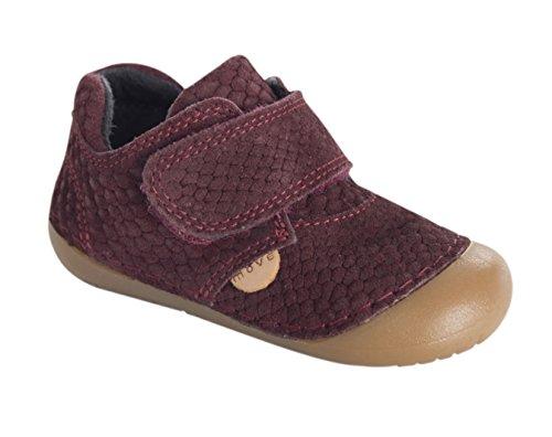 Movimento Do Bebé Primeiro Flex Walker Walker Sapato Vermelho (bordeaux781)