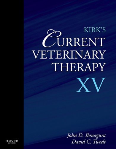 Kirk's Current Veterinary Therapy XV (English Edition)