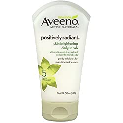 New Aveeno Positively Radiant Skin Brightening Daily Scrub, 5 Ounce