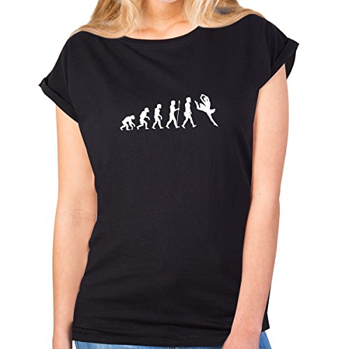 Ballett-neck-shirt (JUNIWORDS Damen T-Shirt -