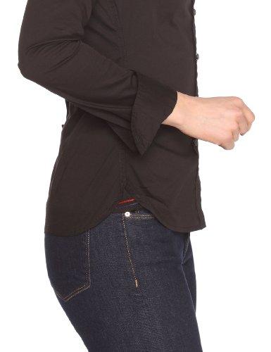 Hilfiger Denim Original stretch shirt l/s - T-shirt - Femme Noir
