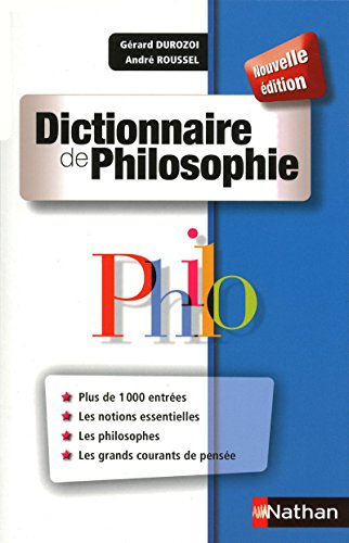 Dictionnaire de Philosophie par Gérard Durozoi