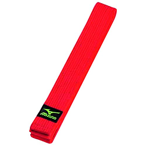 Cintura mizuno rosso judo red belt (misura 4 cm 275)
