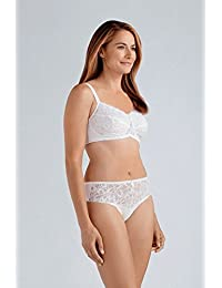 cd2632be6a Amoena Rebecca Non Wired Pocketed Bra 34B - 48D White