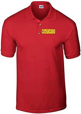 T-Shirtshock - Polo WC0932 CATANZARO ITALIA CITTA STEMMA LOGO