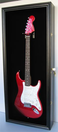 Electric Guitar Display Case, Vertical