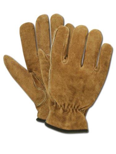 Magid Herren Pro Grade Collection Premium Fleece Wildleder Handschuhe, TB442ET-M (Wildleder-handschuhe Rindsleder)