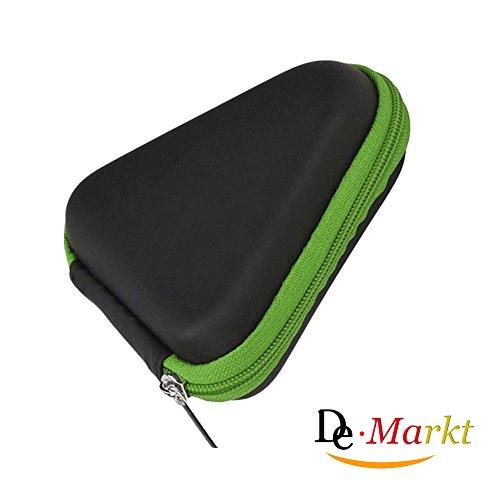 Preisvergleich Produktbild Demarkt Fidget Spinner Box Hand Spinner Box Staubdichtes Gehäuse für Handspinner Grün 9 * 3.5cm