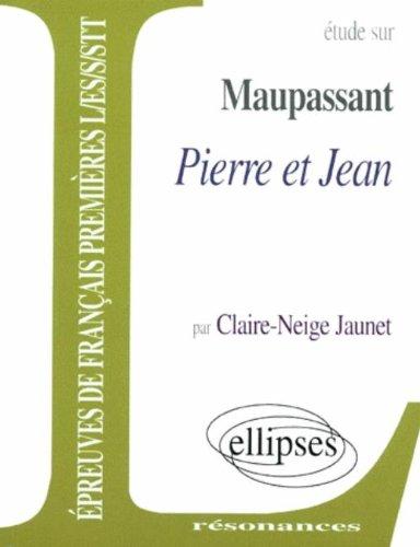 Maupassant, Pierre et Jean