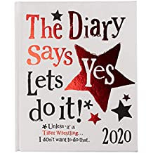 The Bright Side 2020 Diary - The Diary Says Yes Lets Do it !