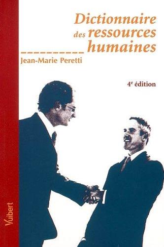 Dictionnaire des ressources humaines