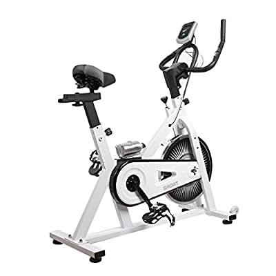 Fitness Cardio Exercise Bike Cycle Workout Gym Machine Trainer Bicycle Cardio Workout Indoor Sports Home Gym from Maudpower