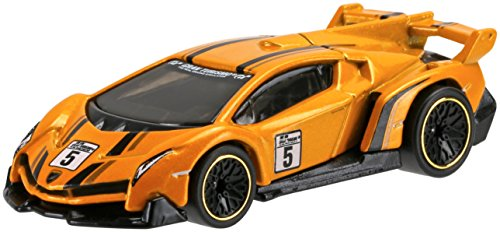 Mattel Hot Wheels DJF58 Metal vehículo de Juguete - Vehículos de Juguete, Coche, Metal, Gran Turismo, Lamborghini Veneno, 1:64